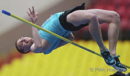 Прыжки в высоту. Даниил Цыплаков победитель Grand Prix  Ostrava