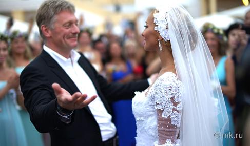 Фото со свадьбы Дмитрия Пескова и Татьяны Навки