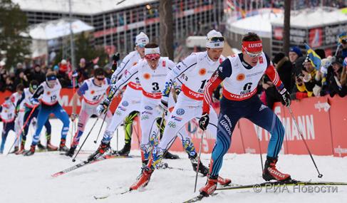 Лучшие фотомоменты чемпионата мира по лыжным гонкам-2015