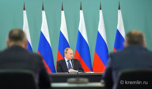 Владимир Путин провел совещание по подготовке к Олимпийским играм 2016 года