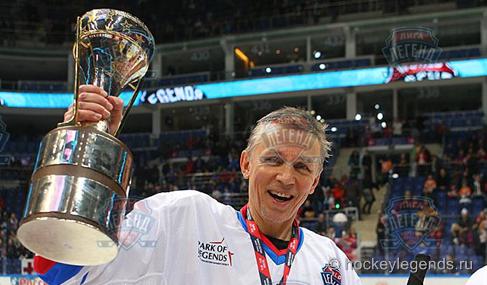 Лига легенд мирового хоккея. Финал. Россия выиграла у Чехии