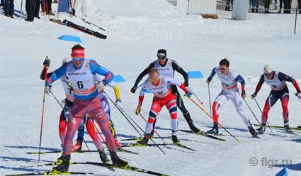 Йоханнес Клебо выиграл золото в гонке преследования на этапе КМ в Квебеке, Андрей Ларьков - 8-й (видео)