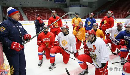 Чемпионат мира по хоккею среди юниоров. Россия - Словакия (прямая видеотрансляция)