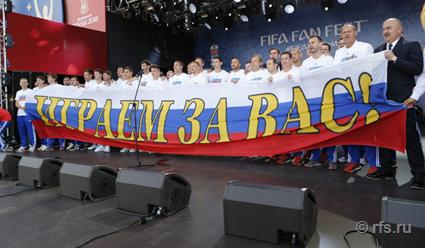 Владимир Путин: Мы можем быть горды тем, что у нас появился такой замечательный тренер, причем российский
