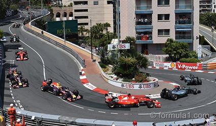 «Формула-1». Шестой этап. Гран-при Монако. Гонка (прямая видеотрансляция)
