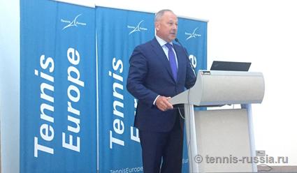 Владимир Дмитриев избран президентом Европейской ассоциации тенниса