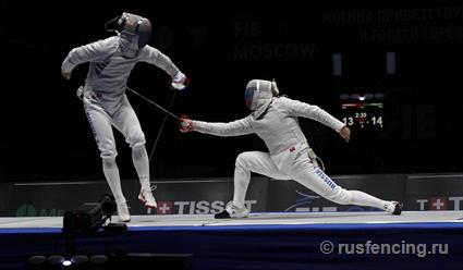 Российские шпажисты выиграли бронзу чемпионата мира по фехтованию (видео)