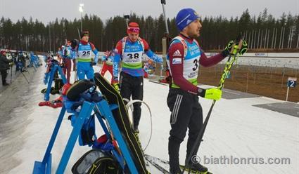 Биатлонист Дмитрий Малышко выиграл первый отборочный спринт в Контиолахти
