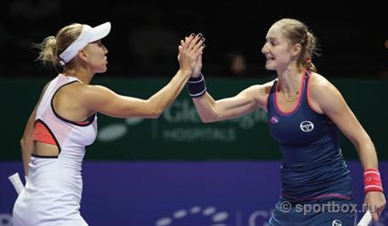 Екатерина Макарова и Луция Градецкая вышли в полуфинал турнира в Цинциннати