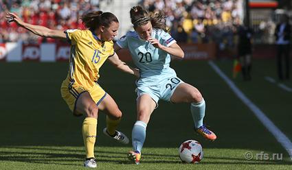 Сборная России по футболу уступила команде Швеции в матче второго тура Евро-2017 (видео)