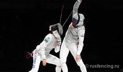 Ирина Дериглазова завоевала золото на ЧМ-2017 по фехтованию в Германии