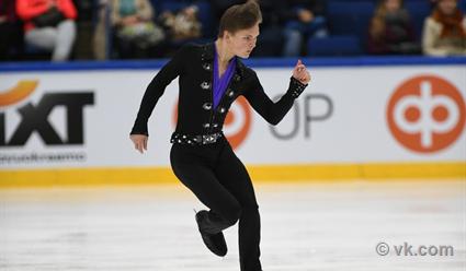 Михаил Коляда стал бронзовым призёром московского этапа Гран-при «Кубок Ростелеком»