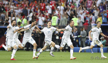 Сборная России в серии пенальти обыграла команду Испании  и вышла в 1/4 финала ЧМ-2018 по футболу (видео)