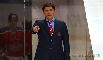 Новым главным тренером хоккейного клуба ЦСКА назначен Игорь Никитин