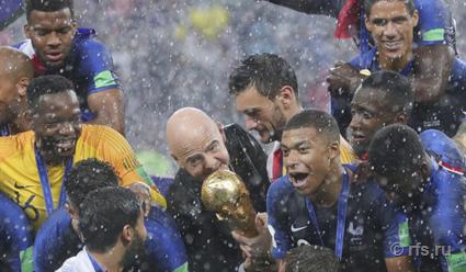 Почему сборная Франции по футболу стала победителем чемпионата мира - 2018