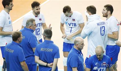 Российские волейболисты разгромили сборную Финляндию и продолжат борьбу за медали ЧМ (видео)