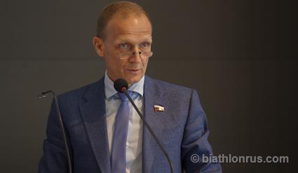 Владимир Драчев  назвал помощников старших тренеров сборных России по биатлону