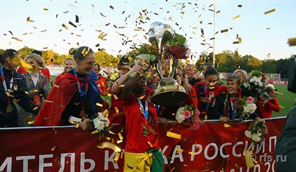 ЦСКА одолел «Чертаново» и впервые в истории завоевал Кубок России по футболу