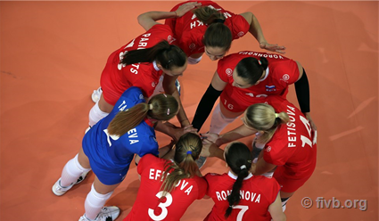Российские волейболистки переиграли сборную Таиланда в матче Лиге наций (видео)