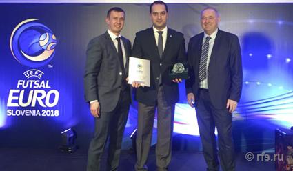 Александр Алаев принял участие в открытии ЧЕ-2018 по мини-футболу
