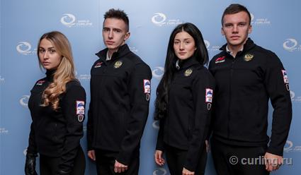 Российские керлингисты обыграли США и Швейцарию на ЧМ среди смешанных команд