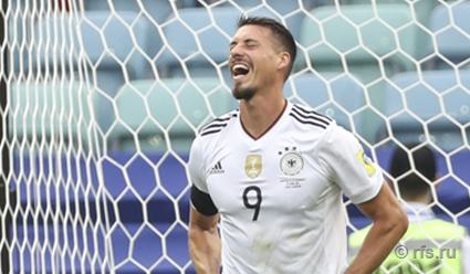 Кубок конфедераций 2017 по футболу. Германия - Чили (прямая видеотрансляция)