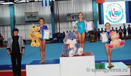 Первый турнир по спортивной гимнастике на призы Марии Филатовой прошел в Ленинске-Кузнецком