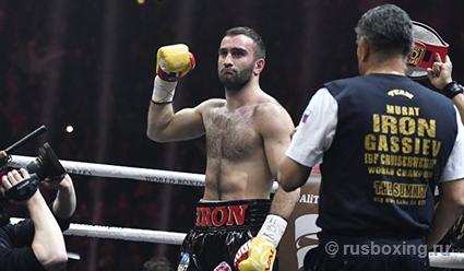 Мурат Гассиев будет запасным во втором сезоне Всемирной боксерской суперсерии