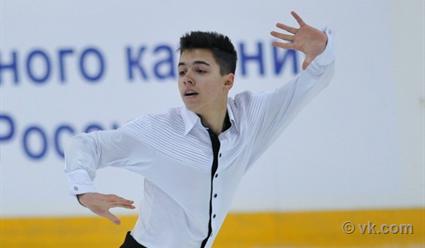 Мозалев и Даниелян вошли в десятку после короткой программы на юниорской серии Гран-при (видео)