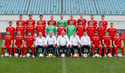 Состав сборной России по футболу для подготовки к контрольным матчам с Южной Кореей и Ираном