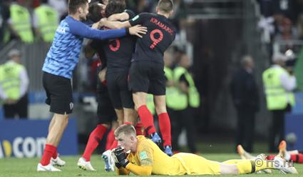 Сборная Хорватии одолела команду Англии и стала вторым финалистом ЧМ-2018 по футболу (видео)