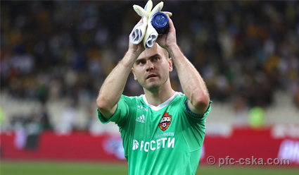 ЦСКА на выезде переиграл АЕК в матче Лиги чемпионов по футболу (видео)