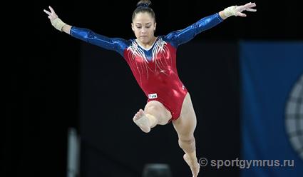 Елена Ерёмина завоевала бронзу чемпионата мира по спортивной гимнастике в многоборье (видео)