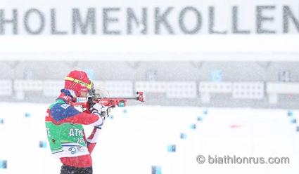 Кубок мира по биатлону 2018/19. 9-й этап. Холменколлен (Норвегия). Расписание, состав, результаты, видео