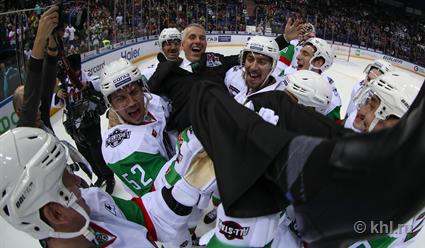 Команда дивизиона Чернышева под руководством Боба Хартли выиграла Матч звезд КХЛ
