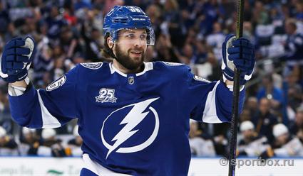 Никита Кучеров превзошёл результат Сергея Фёдорова по количеству очков в одном сезоне НХЛ