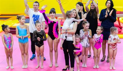 В Москве открылась новая детская школа по спортивной гимнастике Натальи Ковгар