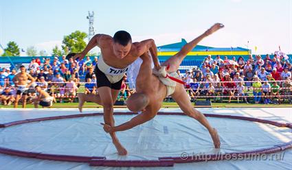 Матчевая встреча российских и японских сумоистов в рамках ВЭФ пройдет 4 сентября