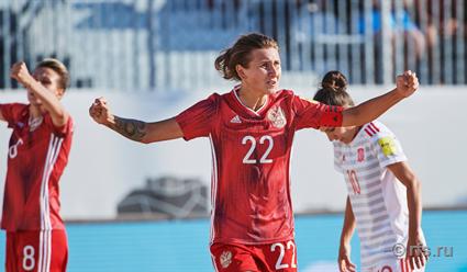 Женская сборная России стала победителем Кубка Европы по пляжному футболу