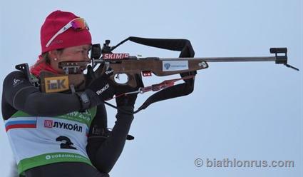 Сборная России по биатлону завоевала второе место в женской эстафетной гонке в Хохфильцене