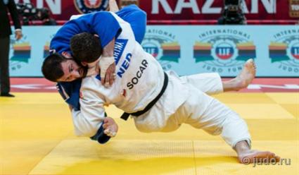 Сборная России по дзюдо выиграла медальный зачет «Большого шлема» в Казани