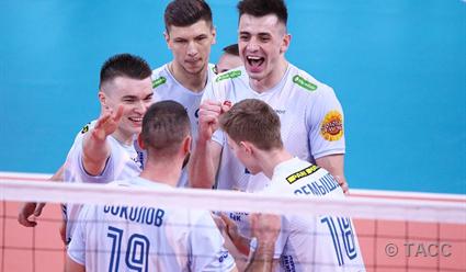 Московское «Динамо» стало чемпионом России по волейболу
