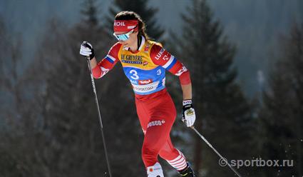 Лыжница Наталья Непряева стала второй в общем зачёте Кубка мира