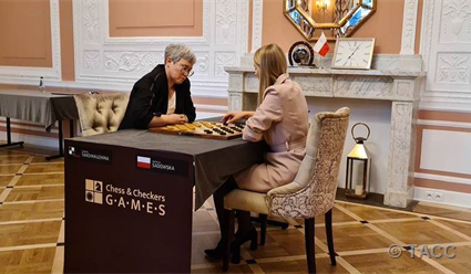Тамара Тансыккужина - чемпионка мира по шашкам