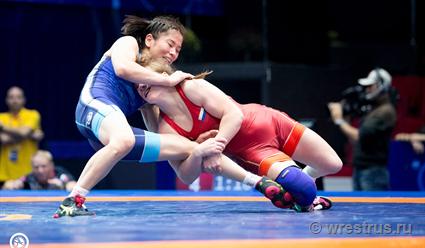 Россиянка Полещук завоевала бронзу на ЧМ по борьбе в весовой категории до 50 кг