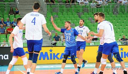 Волейбол. Чемпионат Европы. Мужчины. Россия - Словения (прямая видеотрансляция)