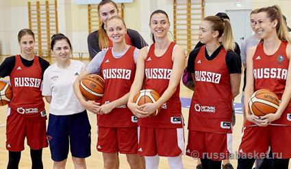 Определен состав женской сборной России на Евробаскет-2019