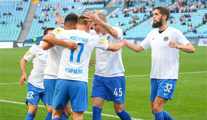 ФК «Сочи» одержал четвертую победу подряд в чемпионате России по футболу