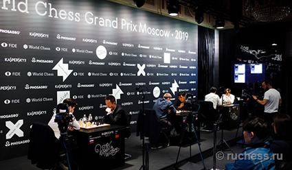 Александр Грищук и Ян Непомнящий вышли в полуфинал этапа Гран-при ФИДЕ в Москве