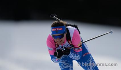 Екатерина Юрлова-Перхт – 13-я в индивидуальной гонке чемпионата мира по биатлону